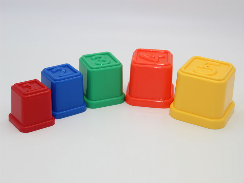 Number Stacking Cup